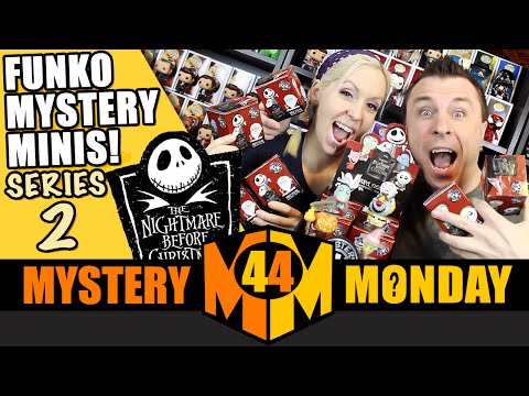 Nightmare Before Christmas Funko Mystery Minis : Full Case Unboxing Part 2