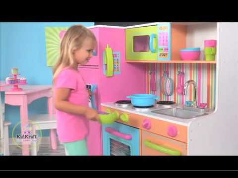 Barbie Kitchen Set Real Cooking Kitchen Appliances Tips And Review