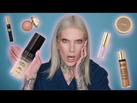 Full Face Using Only Milani Makeup…