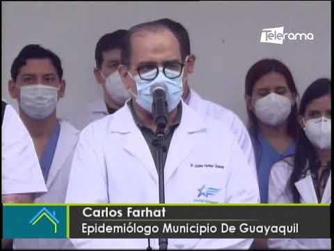 En Guayaquil se registran nuevos sectores con mayor incidencia de casos de covid-19