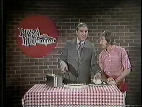 1971 Pizza Hut TV commercial with Ed & Doc
