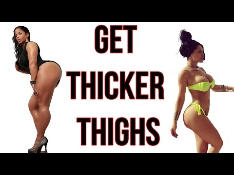 How To Get Thicker Thighs | 5 Workouts For Sexy Thunderous Legs!