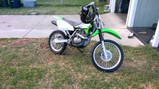 8. Hmong Kawasaki KLX 125L dirt bike