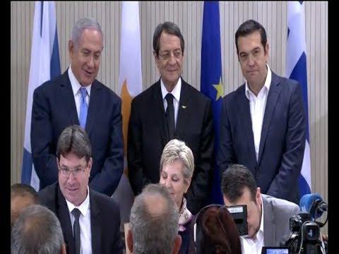 Συμφωνία συνεργασίας στον τομέα Τεχνολογίας Πληροφοριών και Επικοινωνίας Ελλάδας-Κύπρου-Ισραήλ