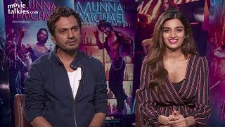 Actors Nawazuddin Siddiqui and Nidhhi Agerwal, who will share screen space in dance flick 'Munna Michael', share their thoughts on their roles, the film, dance and other subjects.For More Updates:Subscribe to: https://www.youtube.com/user/movietalkiesLike us on: https://www.facebook.com/MovieTalkiesFollow us on: https://twitter.com/MovieTalkiesFollow us on: https://www.instagram.com/movietalkies/