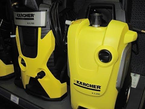 Мини-мойки Karcher. Серия K 2 - K 7. Мощность двигателей от 1.3 KW - 3 KW [Обзор]
