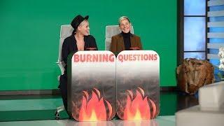Video P!nk Answers Ellen's 'Burning Questions' MP3, 3GP, MP4, WEBM, AVI, FLV Juni 2019