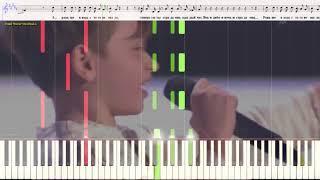 Я милого узнаю по походке - Рутгер Гарехт (Ноты и Видеоурок для фортепиано) (piano cover)