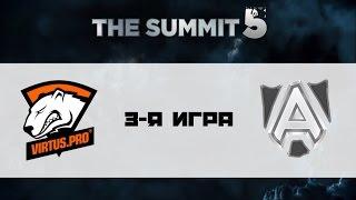 Alliance vs Virtus.Pro, game 3