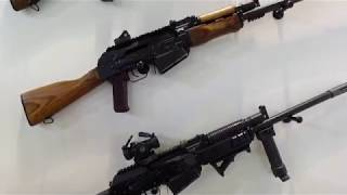 Osmanlı Savunma Saiga ve  Kalashnikov yivsiz tüfekler