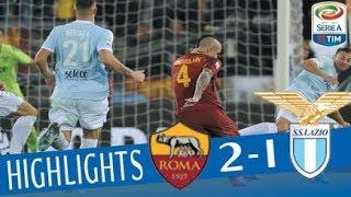 Video Roma - Lazio 2-1 - Highlights - Giornata 13 - Serie A TIM 2017/18 MP3, 3GP, MP4, WEBM, AVI, FLV Agustus 2018