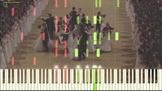 Waltz No. 2 - Dmitri Shostakovich (Ноты и Видеоурок для фортепиано) (piano cover)