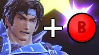 Smash Ultimate But I'm Only Using B Button