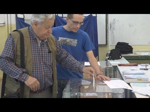 Ομαλά εξελίσσεται η εκλογική διαδικασία στη Θεσσαλονίκη