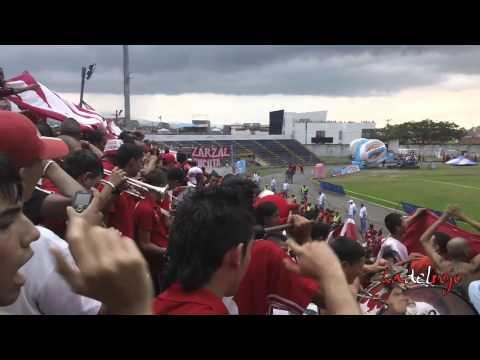 L.H.D.L.C alentando en Tuluá 2013 - Barón Rojo Sur - Cortuluá 2 América 1 - Baron Rojo Sur - América de Cáli