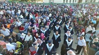 """حفل تخريج الفوج التاسع """" فوج التعليم المقاوم """" - جامعة فلسطين التقنية """"خضوري"""""""