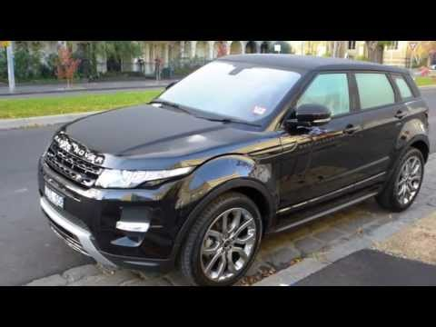 2013 Brand New Range Rover Evoque Dynamic Black Colour at Melbourne Australia