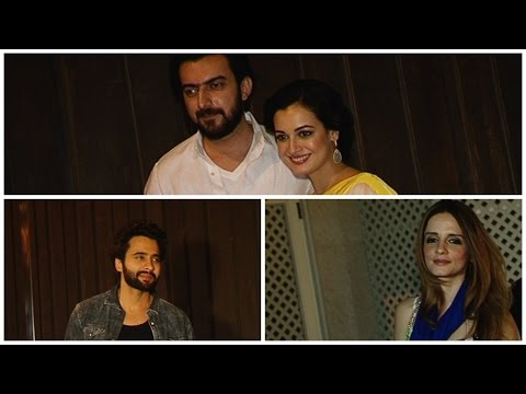 Sussanne Khan, Dia Mirza And Jackky Bhagnani Spotted At Gourva Gupta House Juhu