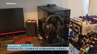 Operação de combate a pirataria digital em Sorocaba
