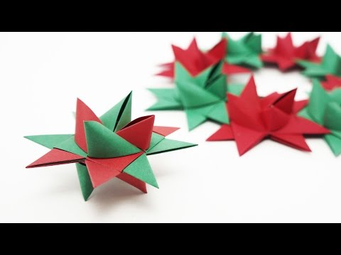 Origami Froebel Star (traditional)