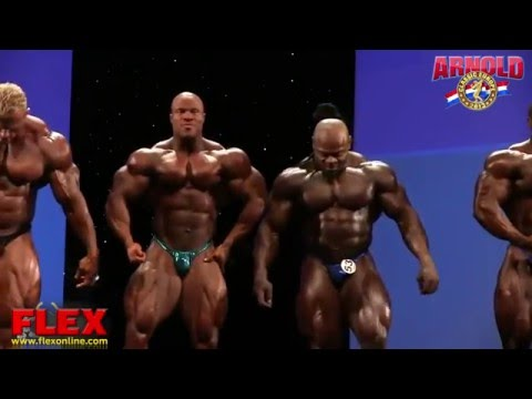 Phil Heath and Kai Greene Final 2013 Arnold Classic Europe