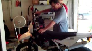 10. Arrival of the 2010 Husqvarna SM 510 R!