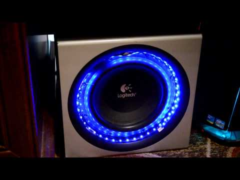 Subwoofer LED's Beat To BASS!