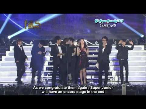 Eng Sub] 120119 SMA - Daesang + Encore Stage (Sup | Youtube Search