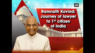 New Delhi, July 25 (ANI): The dais has been set for the oath-taking ceremony of Presidential-elect Ramnath Kovind. From being born in a Dalit family on October 1, 1945, in Paraunkh of Uttar Pradesh's Kanpur, till winning the race towards Raisina, the journey has not been easy for President-elect Kovind.--------------------------------------Subscribe now! Enjoy and stay connected with us!!☛ Visit our Official website: http://www.aninews.in/☛ Follow ANI News : https://twitter.com/ani_news☛ Like us: https://www.facebook.com/ANINEWS.IN☛ Send your suggestions/Feedback: shrawankp@aniin.com