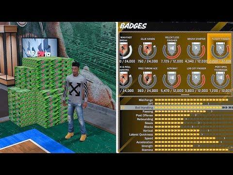 Mountain Dew Endorsement | Attribute Update: Dribbles, Jump Shot & Badges | NBA 2k18 MyCareer #4 (видео)