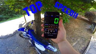 5. Here's How Fast A Yz85 Can Go (OFFICIAL Top Speed)
