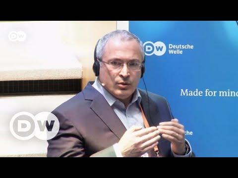 """Ходорковский о Путине, массовых протестах и """"русском мире"""" - интервью DW"""