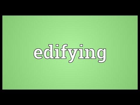 Edifying Meaning (видео)