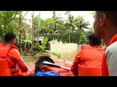 Indien: Hilfe für Flutopfer in Kerala - 1,2 Millionen Menschen in Notunterkünften