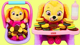 Video LEARN COLORS Paw Patrol Baby Color Matching Cookies Game Best Learning Colors Video for Children! MP3, 3GP, MP4, WEBM, AVI, FLV Mei 2017