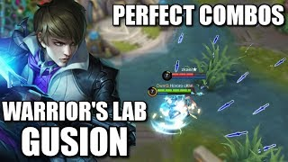 Video WARRIOR'S LAB S2 GUSION'S PERFECT COMBOS AND BUILD MP3, 3GP, MP4, WEBM, AVI, FLV September 2018