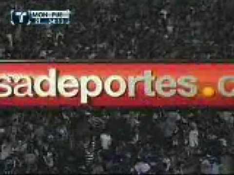 Gol de Alonso Sandoval a Puebla