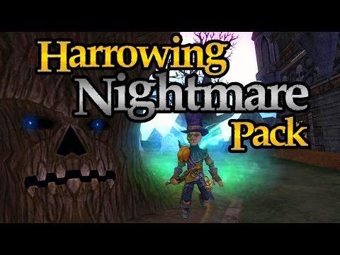 Wizard101: Opening a Bunch of Harrowing Nightmare Packs