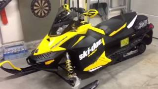 6. 2012 Skidoo Mxz TNT 600 Etec walk around