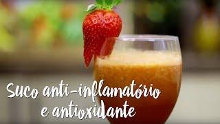 Experimente – Suco anti-inflamatório e antioxidante