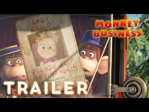 Masha and the Bear - Monkey Business