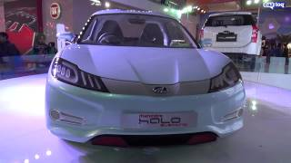 Mahindra showcases future tech at Auto Expo 2014