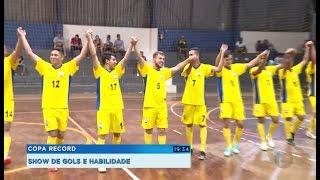 Chuva de gols nos jogos da Copa Record em Pratânia