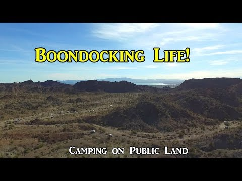 Boondocking Life! Camping on Public Land - VanLife On the Road