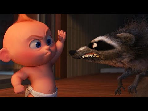 Incredibles 2 Fight Scene in Full: Jack-Jack vs. Raccoon (Exclusive) - Thời lượng: 3:17.