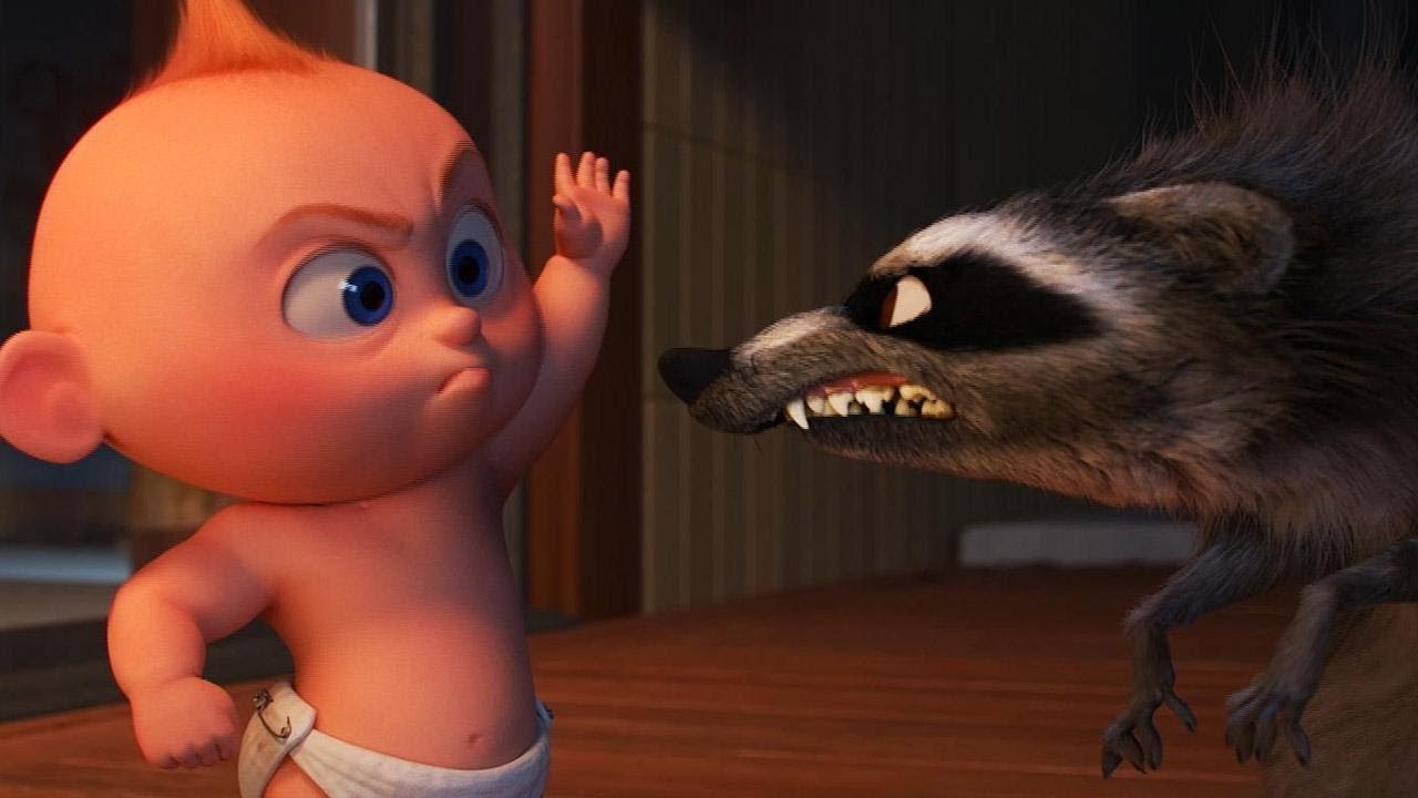 Incredibles 2 Fight Scene in Full: Jack-Jack vs. Raccoon (Exclusive)