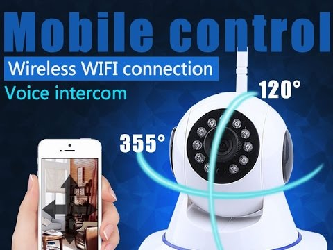 CCTV wifi 720P Wireless HD Security IP Camera.  Like a Foscam
