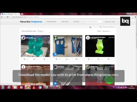 3D printing with Repetier