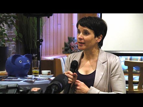 AfD Dr. Frauke Petry Interview Lübeck 2015 - YouTube