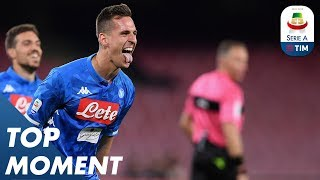Milik edges Napoli beyond Udinese | Napoli 4-2 Udinese | Top Moment | Serie A